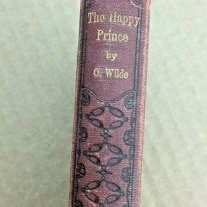 1909 Antique Book The Happy Prince By Oscar Wilde